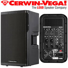 "Cerwin Vega CVX-15 15"" 1500 Watt Powered Loud Speaker 3 Channel Mixer DJ Pro"