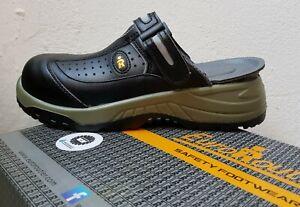 EuroRoutier Trendy Black Sicherheitsclogs Sicherheitsschuhe Clogs Trucker