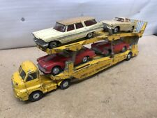 Corgi Toys Major Bedford Type S Carrimore Car Transporter # 1101 And 4 Cars.