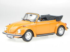 VW Käfer 1303 convertible 1972 orange diecast modelcar 188521 Norev 1:18