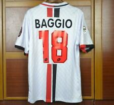 AC MILAN 1995-96 AWAY RETRO SHIRT, BAGGIO, Sizes S M L XL