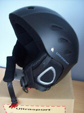 Helmet Ultrasport Race Edition Ski Snowboard Helmet Matt Black Size Medium New
