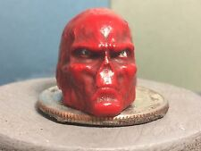 MARVEL LEGENDS PAINTED AND FITTED RED SKULL HEAD CAST 1:12 FOR 6IN ACTION FIGURE