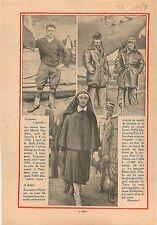 Rameur Français François Bardiaux Joinville Canoë Belle-Etoile 1931 ILLUSTRATION
