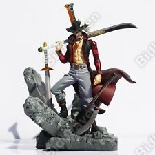 15 Cm One Piece Anime Dracule Mihawk Action Figure Toy