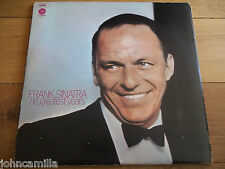 FRANK SINATRA - HIS GREATEST YEARS - 3xLP / RECORD - CAPITOL RECORDS - SRSSP1/3