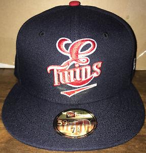 Elizabethton Twins MiLB New Era 59FIFTY Hat Cap Size 7 1/4 Baseball Minnesota