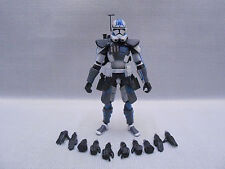 "Custom 1/18 Microman DLX Clone ARC Trooper Phase II Fives Star wars 4"" Figure"