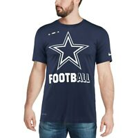 New Nike Dallas Cowboys NFL Football Dri-Fit Legend t-shirt men's 2XL XXL NWT
