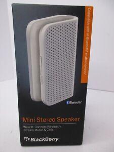 BlackBerry Portable Mini Stereo Bluetooth Speaker NEW Sealed