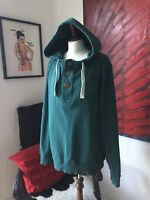 Fat Face Hoodie Men's Size L Green