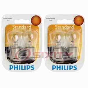 2 pc Philips Brake Light Bulbs for Kia Amanti Borrego Forte Forte Koup if