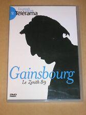 DVD CONCERT / SERGE GAINSBOURG AU ZENITH 1989 / TRES BON ETAT