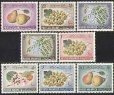 Afghanistan 1962 Red Cross/Medical/Fruit 8v set n28460