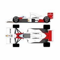 EIDOLON 1/43 McLaren MP4/5 No.1/1989 Monaco GP Winner A.Senna FE023A w/ Tracking