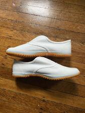 Nisshin Rubber White Slip-on Ninja Japanese Workwear Tabi Shoes 28cm Unisex