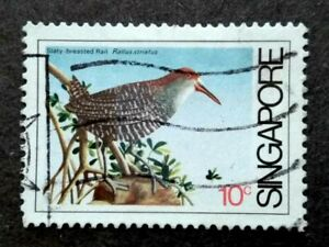 Singapore 1984 Coastal Birds 10c - 1v Used