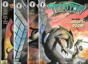 THE TERRITORY #1-#4 SET (NM-) DARK HORSE COMICS
