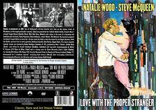Love with the Proper Stranger ~ New DVD ~ Natalie Wood, Steve McQueen (1963)