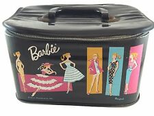 Vintage 1961 Barbie Doll Case. Ponytail Style by Mattel. Zipper doesn't work.