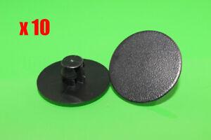 10 Car Bonnet Insulation Retainer Clips Plastic Trim Clips for Mitsubishi