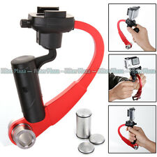 Handheld Camera Stabilizer Video Steadicam Gimbal Curve for GoPro Hero 5 4 3+Red