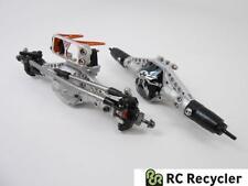 Vanquish SCX10 Alu Front Rear Zero Ackerman Axles Ti Link VVD Shafts 1/10 Scale