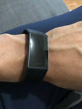 Fitbit - Charge 3 Fitness Tracker - Black Medium NEW
