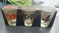 AC/DC SHOT GLASSES SET OF THREE
