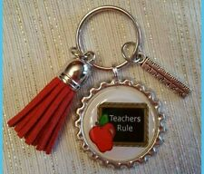 TEACHER'S RULE key chain!!!MUST SEE!!GREAT END IF YEAR GIFT.