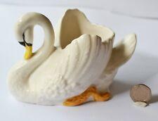 More details for sylvac (england) ceramic swan - model number 1127 c. 15cm long