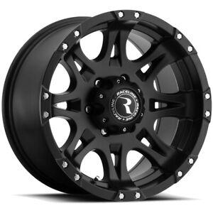 """18 Inch Raceline 981 Raptor 18x9 6x139.7(6x5.5"""") +25mm Matte Black Wheel Rim"""