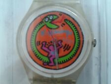 VINTAGE SWATCH WATCH  Keith Haring Limited edition Swatch Sailing Yacht NauTica