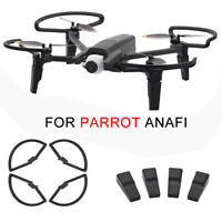 2 Pair For Parrot Anafi Drone FPV Expand Landing Gear+Propeller