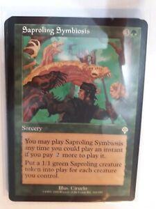 Saproling Symbiosis Invasion NM MTG