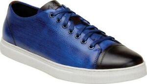 BELVEDERE SNEAKER ABRENO BLUE RETAILS $175