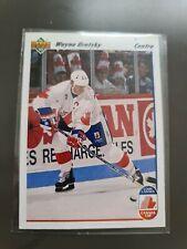 Wayne gretzky card  #13 French/Quebec Version