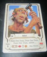 Guardians Idiot trading card game tcg/ccg Rare 2 1995