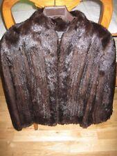 Morris Kaye&Sons BlackGlama mink fur coat