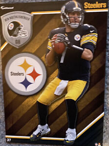 Ben Roethlisberger Pittsburgh Steelers Fathead Tradeable NFL 5x7