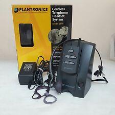 Plantronics Cordless Telephone Headset System Complete Model CS10
