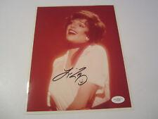 LIZA MINNELLI Singer Actor Signed Autographed 8x10 photo JSA COA