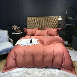 Duvet Cover Bed/Fitted Sheet Set Long Staple Soft Breathable Bedding Set