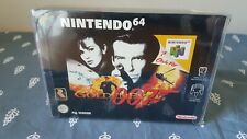 GoldenEye 007 Nintendo N64 Boxed Complete with Manual in Plastic box Protector