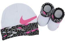 Nike Baby Infant Hat & Booties Mütze und Socken Set Jungen oder Mädchen 0- 6 Mon