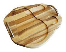 SodaStream Crystal Gleitbrett/Slider | Servierbrett aus edlem Akazie | Holz