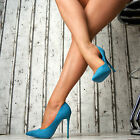 SeXy Lusso décolleté Donna Pizzo Scarpe Partito High Heels Tacchi alti a spillo