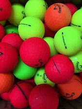 12 Callaway Superhot Colored AAA Used Golf Balls....Free Shipping