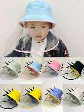 Kids Face Shield Hat Windproof Anti Splash Spray Protection Safety Face Shield