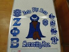 Zeta Phi Beta PATCH SET